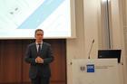 Zeichnete ein positives Bild der deutschen Volkswirtschaft: IW-Direktor Michael Hüther in Frankfurt. Foto: Frank Rösch/BME e.V.